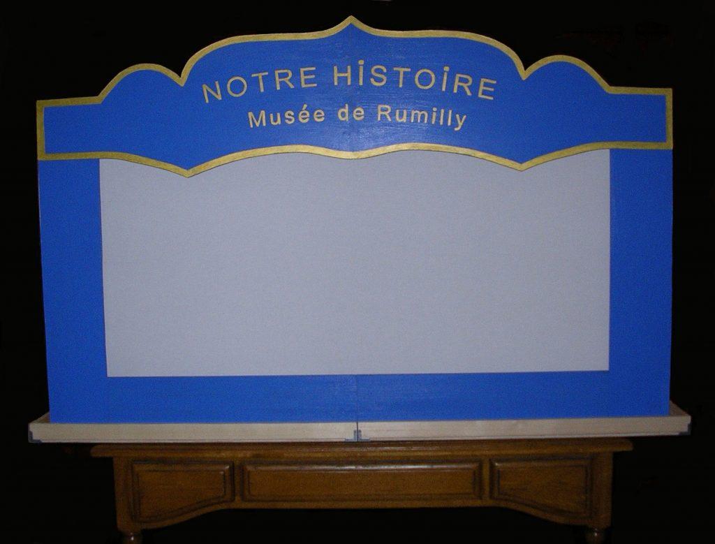 Castelet pour le Musée de Rumilly (74)