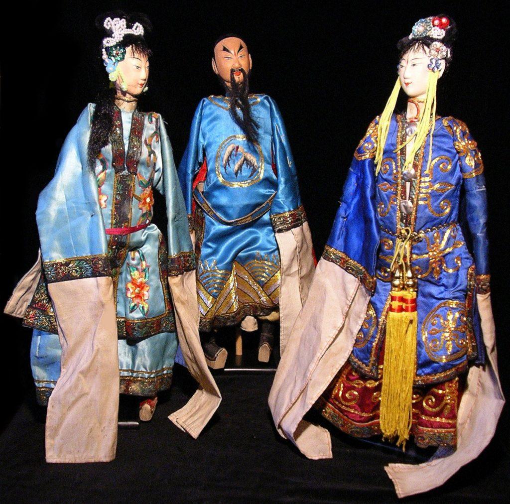 Marionnettes à baguettes