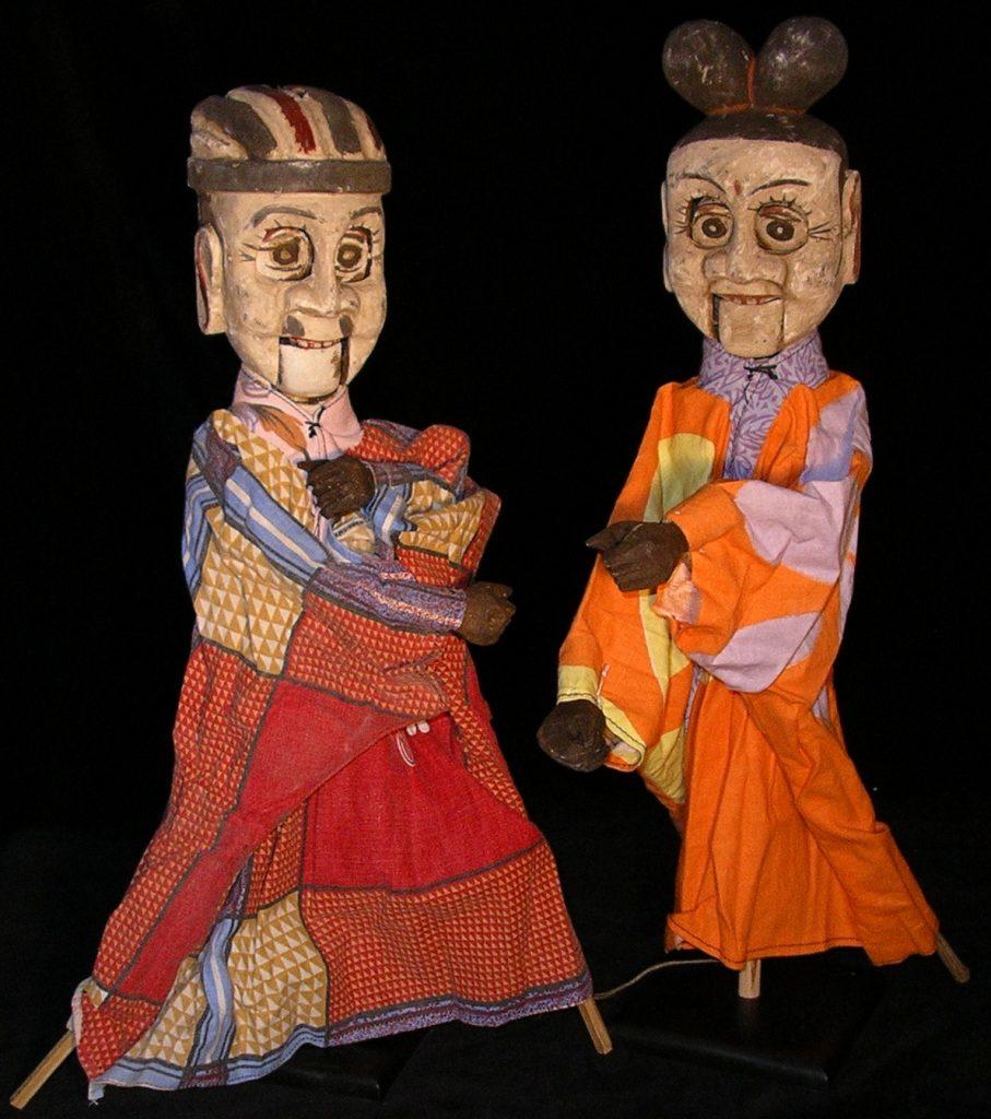 Marionnettes à tige
