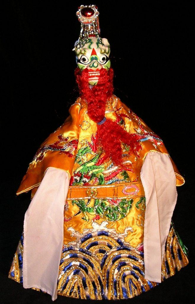 Marionnette à gaine, le Roi Dragon